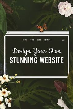 Today it's possible to create your own professional website - all on your own. Try out Wix.com to create your own beautiful website - from start to finish.