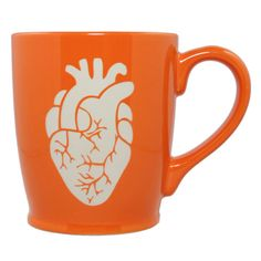 Anatomical Heart Mug - Bread and Badger Gifts