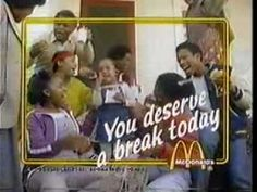 Great vintage McDonald's commercial with Double Dutch! Played double dutch for hours everyday after school. The Boogie, Old Commercials, Somewhere In Time, Thanks For The Memories, Retro Advertising, News 6, Get Happy, 80s Kids, My Childhood Memories