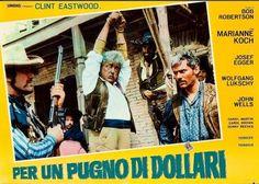 A Fistful Of Dollars italian fotobusta poster. Sergio Leone. Clint Eastwood