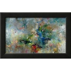 Wildon Home  'Valley of the Waterfalls, 1994' by Jane Deakin Framed Painting Print