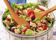 Easy Club Salad Recipe - Tablespoon