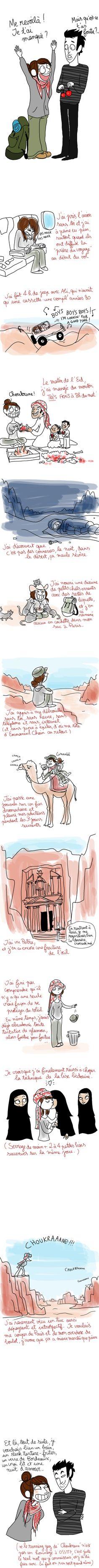La petite Bédouine en Jordanie