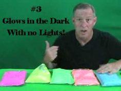 Glow-in-the-Dark Triple Glow Pigments | Strontium Aluminate Powders - GloNation