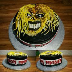Geburtstagstorte Iron Maiden