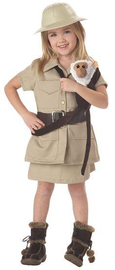 Cutest Safari Girl Costume for kids!