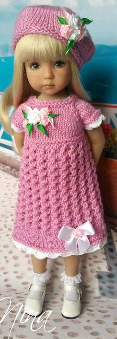 Dianna Effner's doll-handmade knit