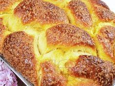 Рецепта за Домашен пухкав козунак със стафиди, орехи и суха мая в хлебопекарна - начин на приготвяне, калории, хранителни факти, подобни рецепти