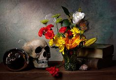 Vanitas With Skull Mirror Ball And Flowers Print By Levin Rodriguez Flower Prints, Flower Art, Vanitas Paintings, The Lovely Bones, Butterfly Project, Mirror Ball, Halloween Painting, Thing 1, Still Life Art