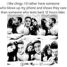 Sorry if I'm clingy /.\