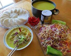 Traditional Khmer Rice Noodle