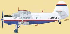 Ан-2 авиакомпании Air Kasaï