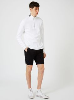 Black Stretch Skinny Chino Shorts Skinny Chinos, Chino Shorts, Asos, Sporty, Trending Outfits, How To Wear, Men, Clothes, Black