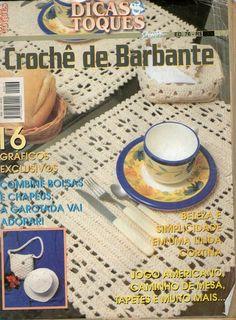 Revista Dicas e Truques -Crochê de Barbante - Vida Pink - Picasa-Webalben