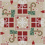 The Floss Box | Biscornu 578 Pdf pattern