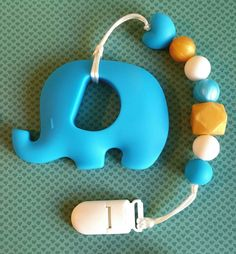 Hey, I found this really awesome Etsy listing at https://www.etsy.com/ca/listing/463619814/blue-baby-elephant-teether-with-clip-for