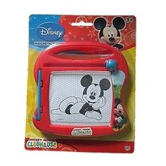 DISNEY-MICKEY-MOUSE-MAGNETIC-SKETCHER-DRAWING-BOARD-TOY-CARRY-PLAY-HOLIDAY