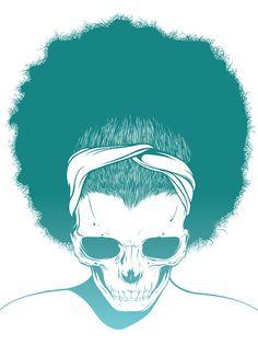 Skull Girls Illustrations by Gerrel Saunders