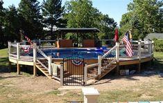Above Ground Pool Deck Above Ground Pool Decks Pool