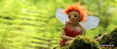 Keramik Elfe für den Garten Tinkerbell, Christmas Ornaments, Disney Princess, Disney Characters, Holiday Decor, Home Decor, Elves, Gardening, Decorations