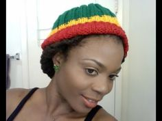 Winter Loc Hairstyle tutorial ft Rasta tam. Very chic,simple and quick lock hairstyle.