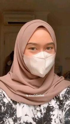 Simple Hijab Tutorial, Hijab Style Tutorial, Stylish Hijab, Casual Hijab Outfit, Modern Hijab Fashion, Muslim Fashion, Heutiges Outfit, Video Hijab, Pashmina Hijab Tutorial