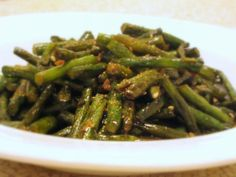 Is It EDible?: Chinese Green Beans with Seven-Spice Chili Pepper