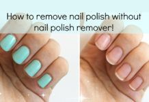 How To Remove Nail Polish At Home Without Acetone Homemade Nail