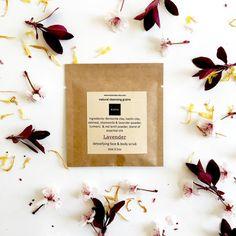 Lavender Chamomile  Natural Cleansing Grains 100% by KayaSoaps