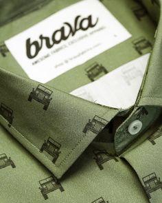 Willys Adventure Brava Fabrics Printed Shirt