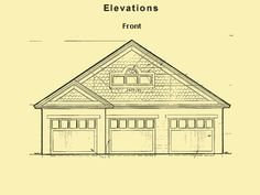 Garage Plans With Loft, Garage Floor Plans & Garage Loft Plans
