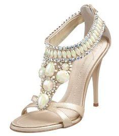 Giuseppe Zanott jeweled heels ♥   Beaded~Bejeweled~Bedazzled