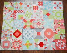 @ Camille Roskelley - Farmers Wife Quilt-a-long ---I looooveeee these blocks, so pretty