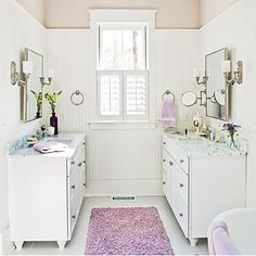 Save Money with Beaded Board - 65 Calming Bathroom Retreats - Southern Living
