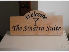 Welcome to the Sinatra Suite