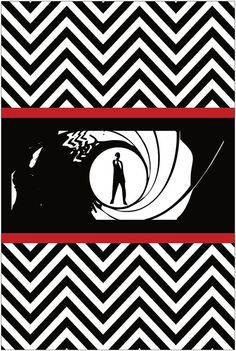 Backdrop for James Bond themed Birthday by PartyPlanItDesigns, $25.00