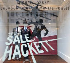 Hackett, London // Sale by Hackett in collaboration with Harlequin Design // June 2013