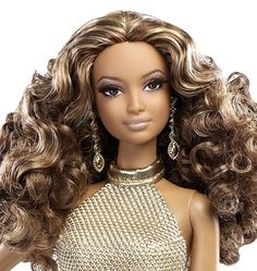 Barbie Negra Collector Red Carpet -carpet Vermelho Gold Lab. - R$ 250,00 no MercadoLivre