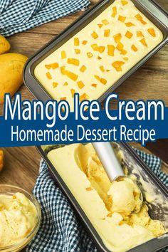 Mango Ice Cream ( How To Make Ice Cream Recipes ) - Summer Recipes. Homemade Mango Ice Cream is a Popular Dessert Recipes during Summer. 3 Ingredients Ice Cream Recipe is made of All Purpose Cream, Fresh Ripe Mangoes and Condensed milk. #Mangoicecream #icecreamrecipes #howtomakeicecream