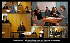 "Life.Design. and the Pursuit of Craftiness: YW in Excellence Program: ""Standing as a Witness"" Court Theme"