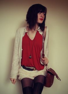 The Pineneedle Collective: Suspenders and Lace