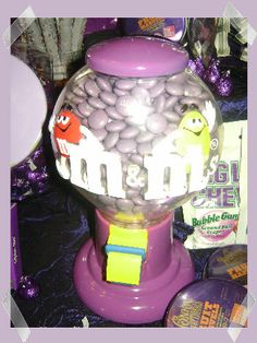Purple Candy Party Ideas... 13th Birthday Parties, 11th Birthday, Slumber Parties, Candy Crush Cheats, Purple Candy, Party World, Purple Birthday, Partying Hard, Candy Party