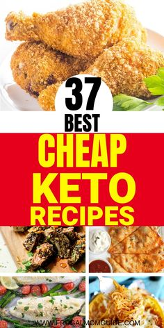 Trying to do keto on a budget? These cheap keto meals are good for both your waistline and pocket! Add variation to your diet with these cheap keto recipes. Ketogenic Diet Meal Plan, Ketogenic Diet For Beginners, Diet Plan Menu, Keto Diet For Beginners, Keto Meal Plan, Diet Meal Plans, Ketogenic Recipes, Diet Recipes, Healthy Recipes