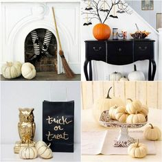 Ideas para Halloween - Decoración Gótica Glamourosa