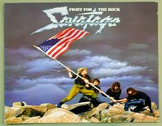 Album Front cover Photo of SAVATAGE - Fight for the Rock http://www.vinylrecords.ch