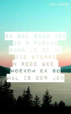Ek is mal oor jou Quotes For Him, Me Quotes, Qoutes, What Is Love, Love You, My Love, My Beautiful Daughter, Beautiful Words, Butterflies In My Stomach