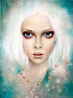 #Painting by Erica Calardo http://beautifulbizarre.net/2014/05/29/erica-calardo-interview/