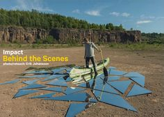 """Behind the Scenes video of my latest photo """"Impact"""". This is an image I've been working on for the past months. I wanted to create an image where a lake is b..."""