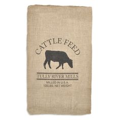 Shop  Cattle Feed Sack Reproduction at onlinefabricstore.net for $9.1. Best Price & Service.