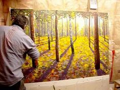 Maxim Grunin is a contemporary Canadian painter MFA. This is the 2nd part of a video where the artist works on the piece and gets it finished.